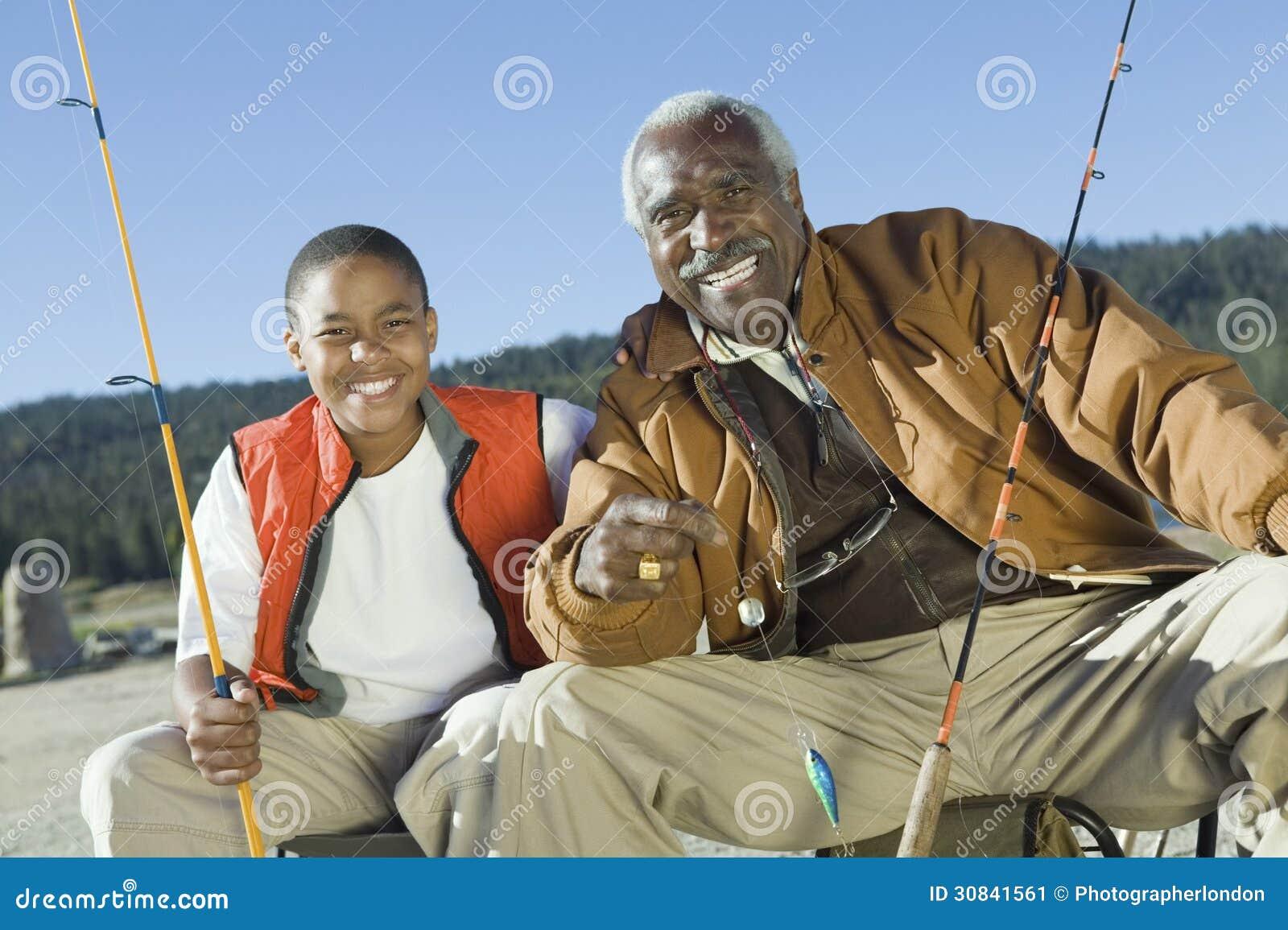 Farfar- och sonsonfiske