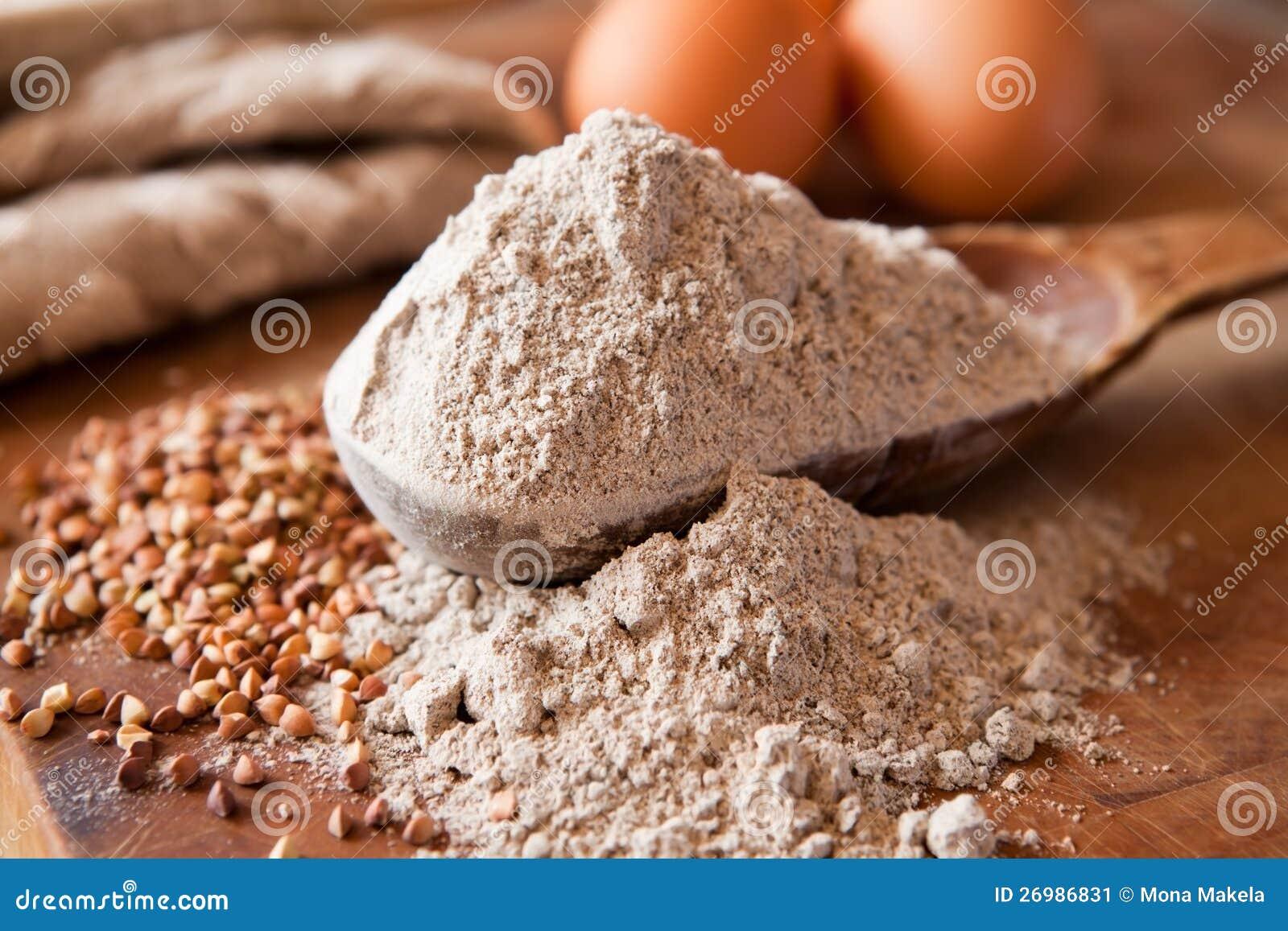 Farinha do trigo mourisco