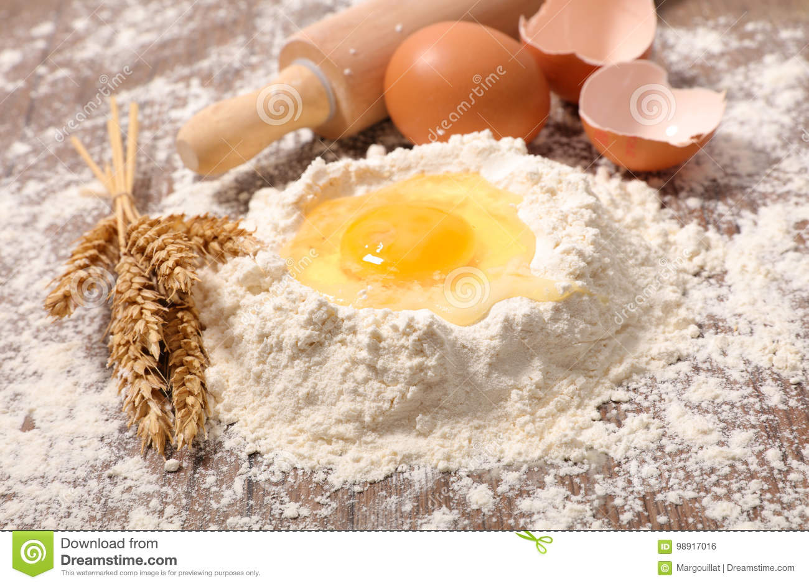 Farinha e ovo