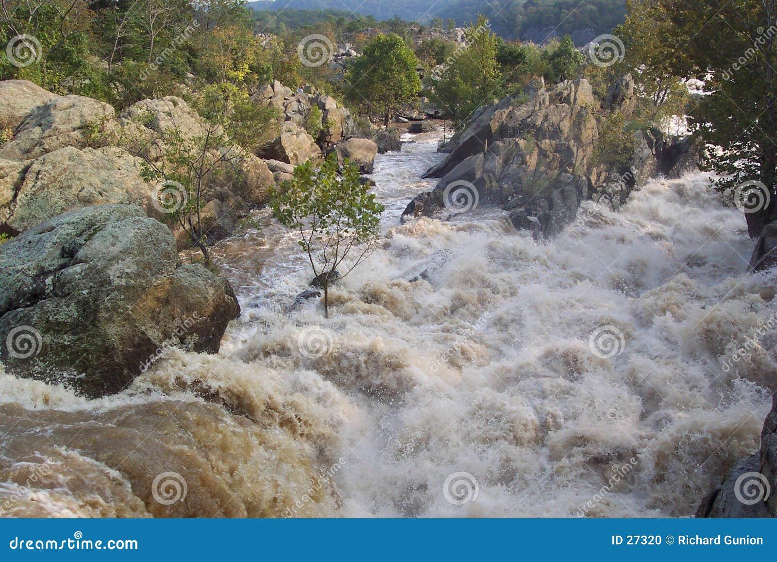 Farlig flod