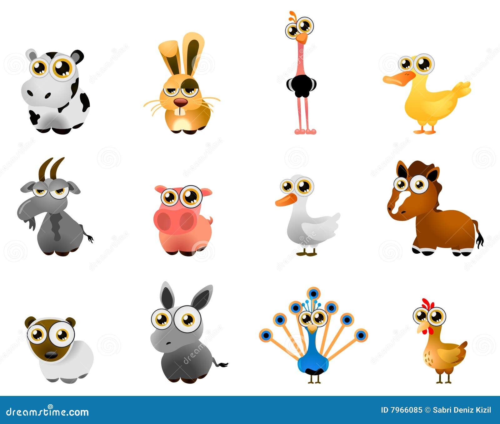 farm animal vector stock vector illustration of farm