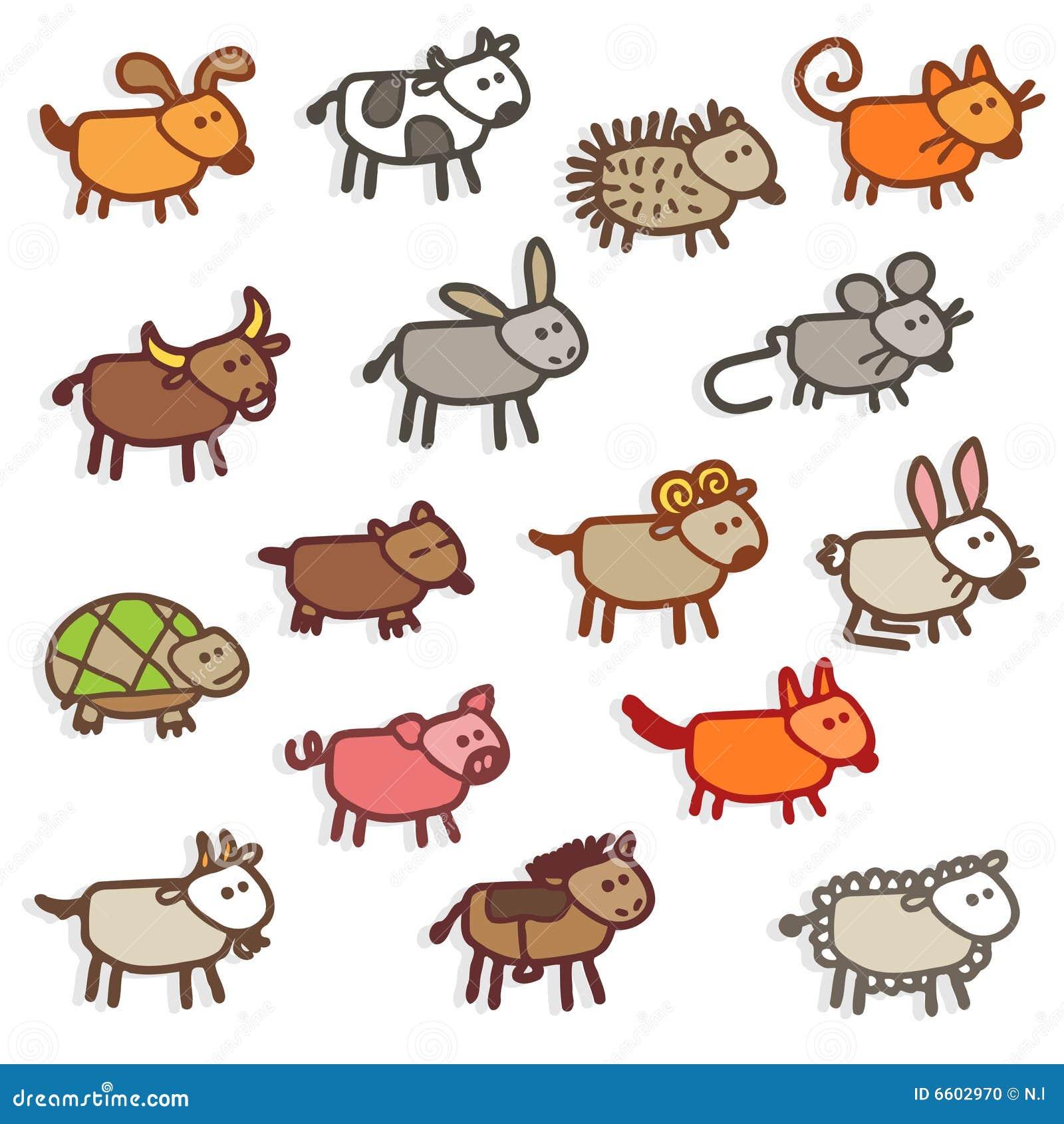 farm animals stock photo image 6602970