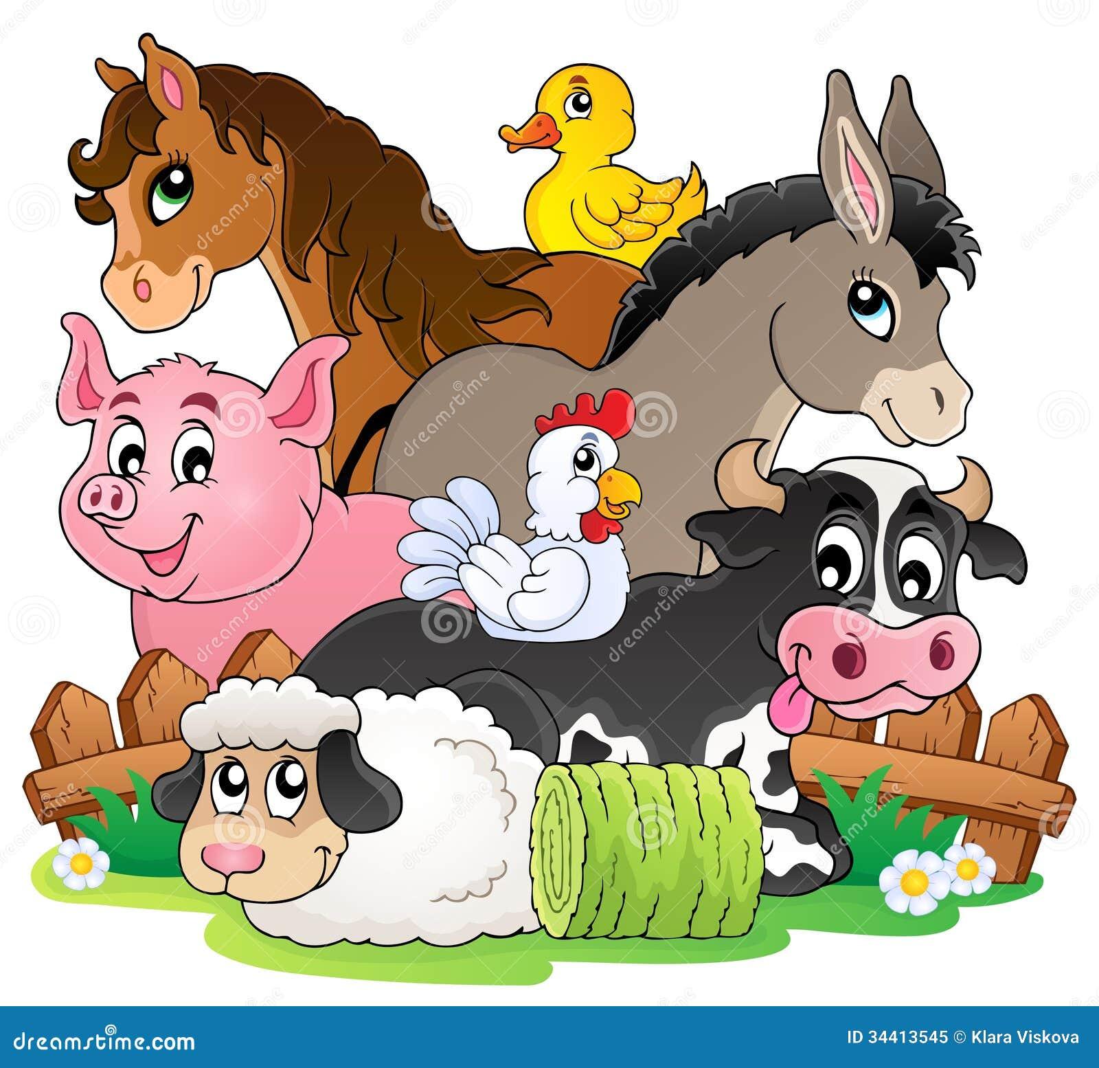 Farm animals topic image 2