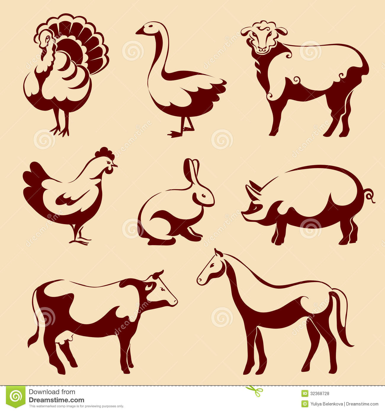 free download domestic animals pictures