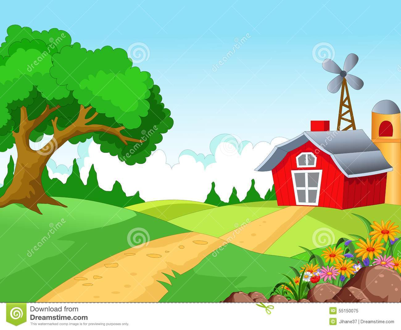 Farm Background For You Design
