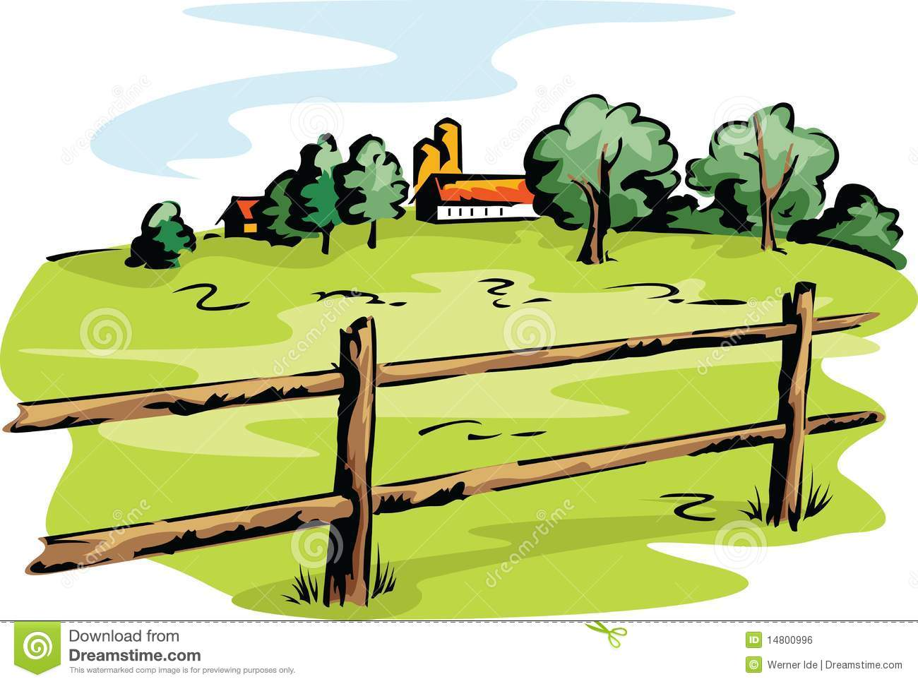 Farm Fence Clipart simple farm fence clipart a log with decorating