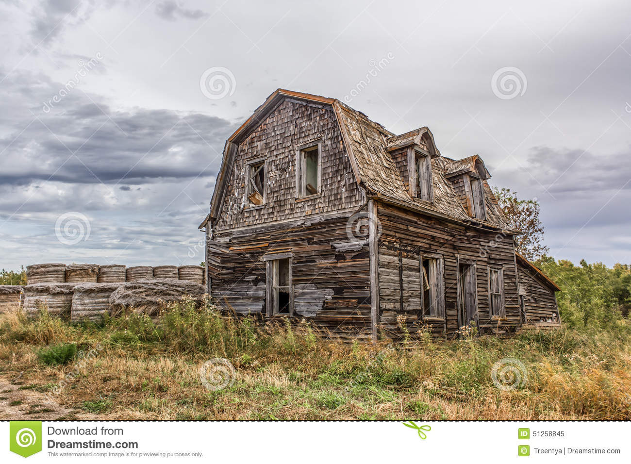 Download Farm home stock image. Image of color, blue, building - 51258845