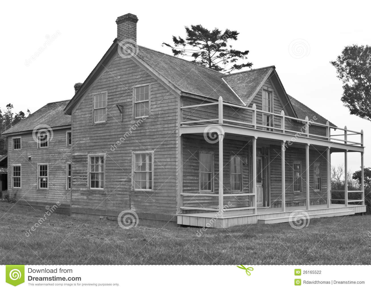 Farm house black and white stock photography image 26165522 Black and white homes