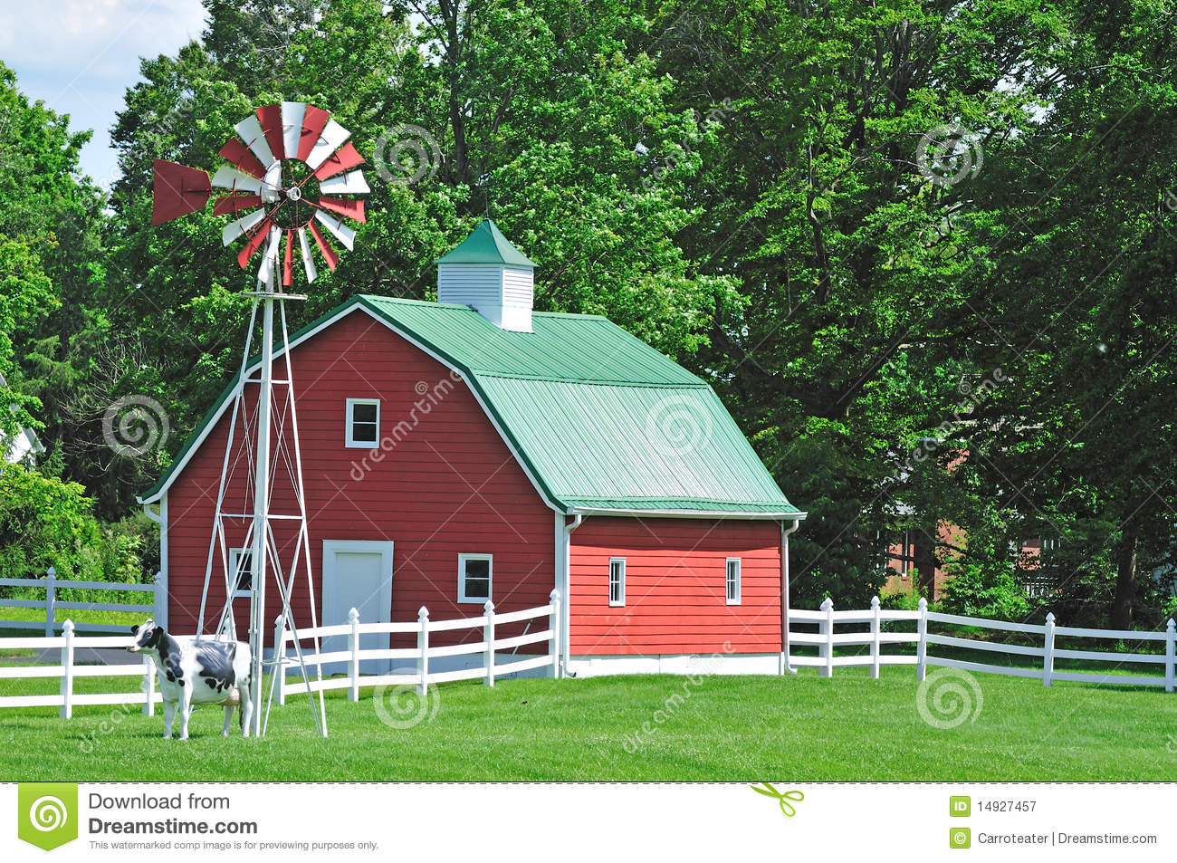 Farm House In The Usa Royalty Free Stock graphy Image