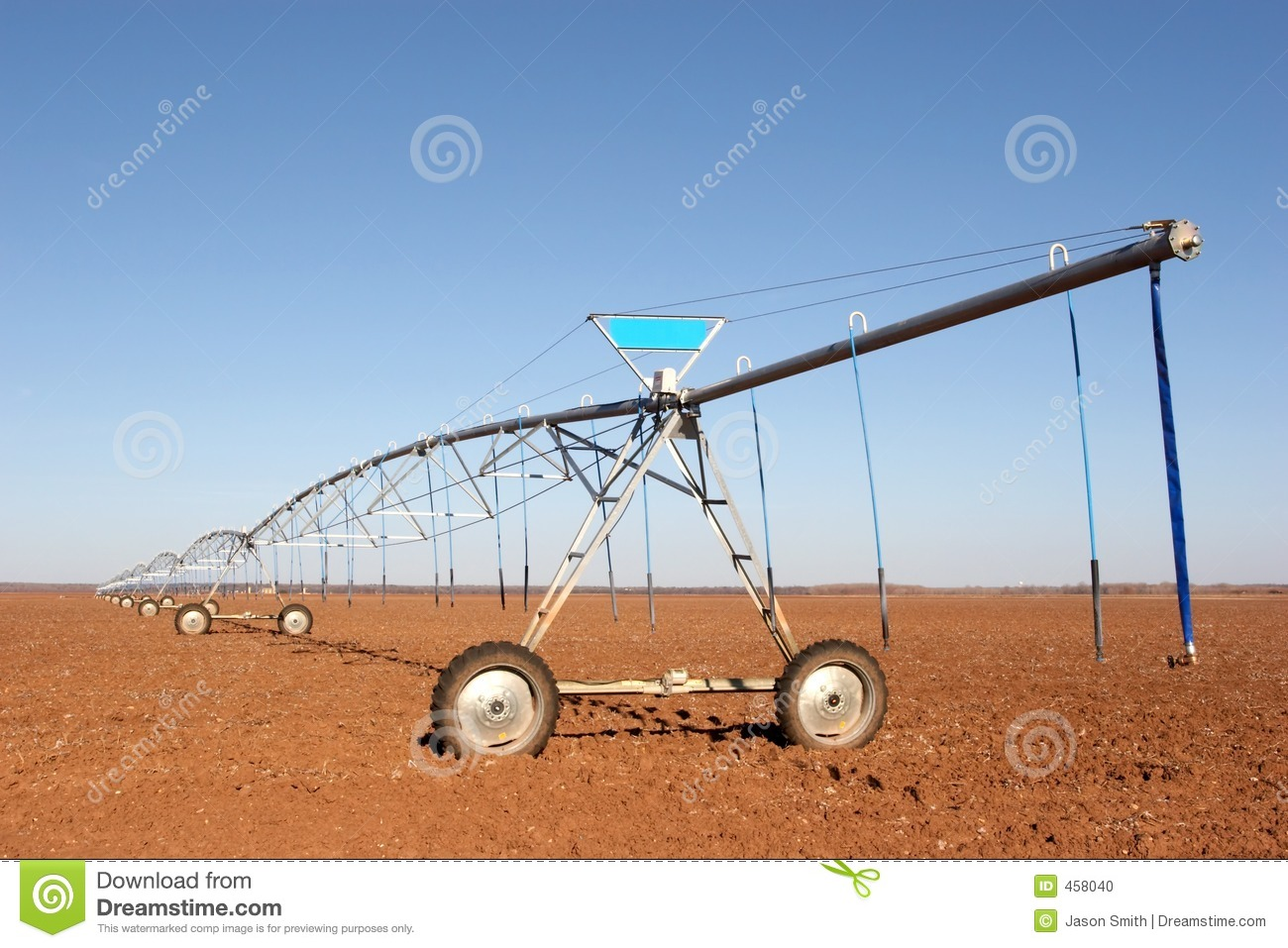 Download Farm Irrigation stock photo. Image of costly, weather, forever - 458040