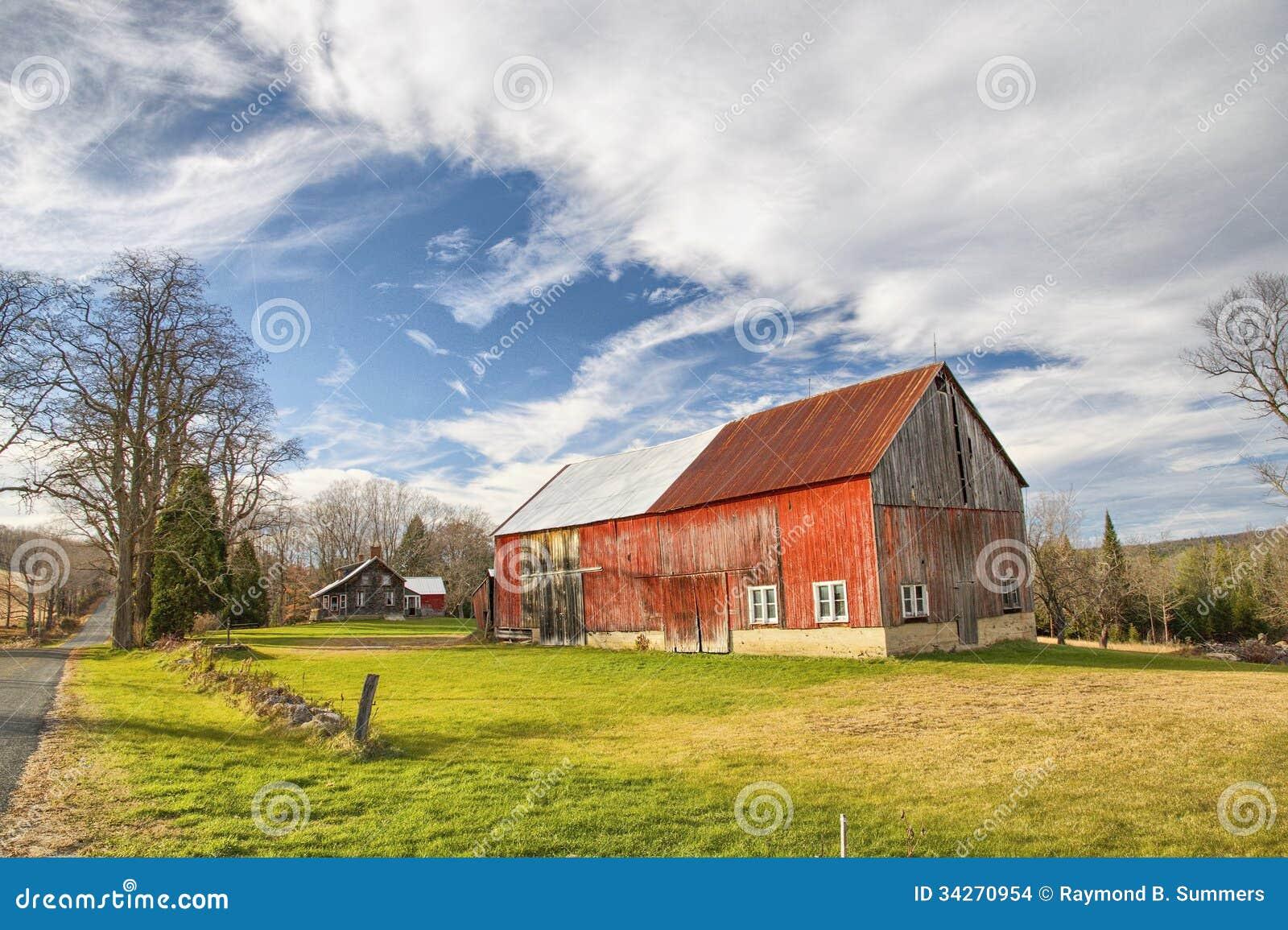 Farm Setting Stock Images Image 34270954