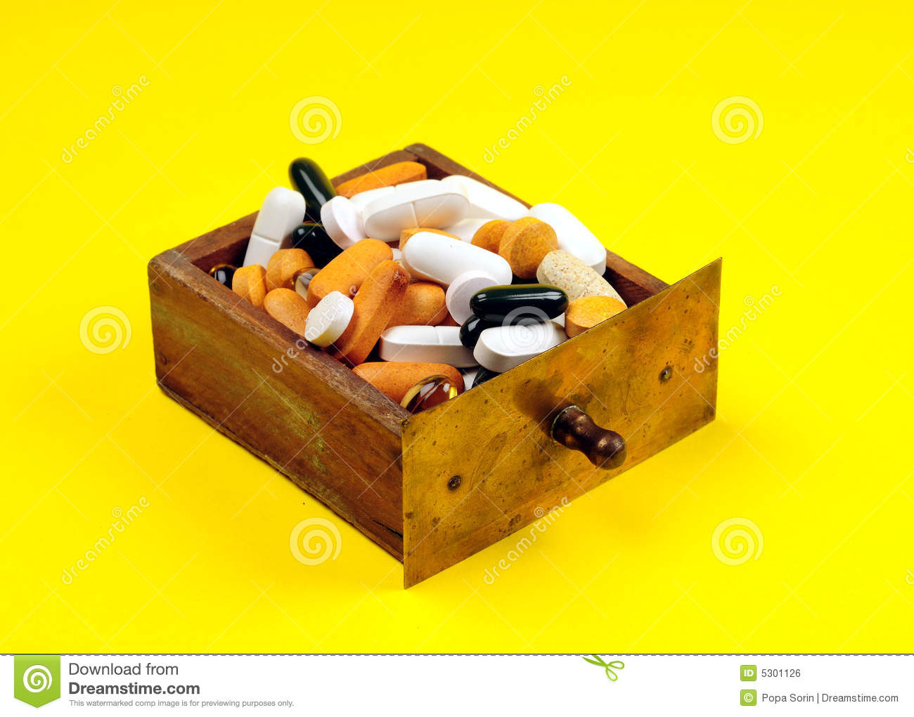 Download Farmacia fotografia stock. Immagine di capsule, calcio - 5301126