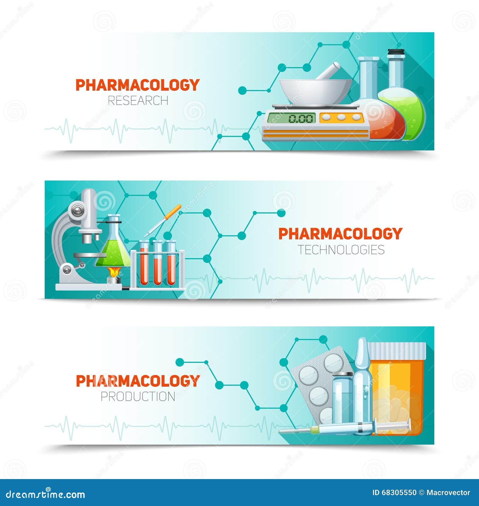 Farmacología 3 banderas horizontales fijadas