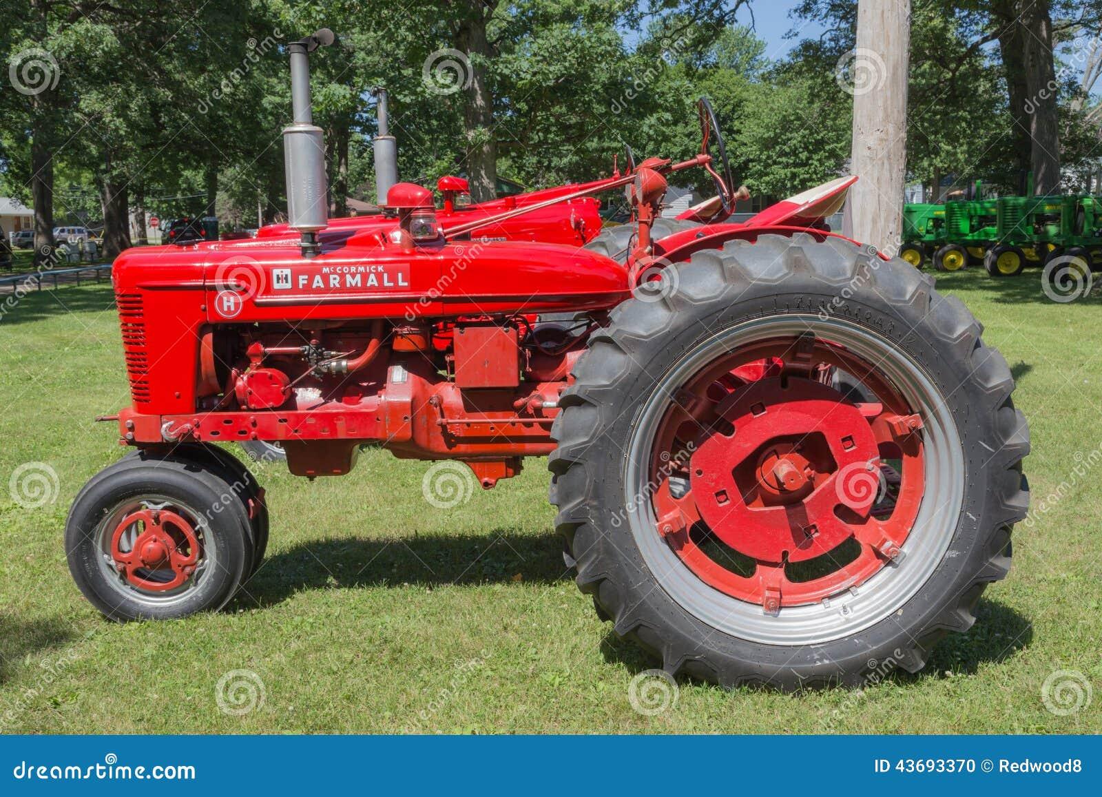 Farmall Tractor Models : Farmall model h editorial image