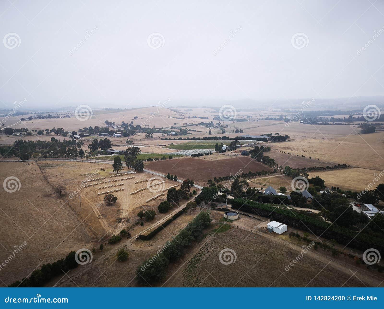 Farmanld sceneria od Melbourne