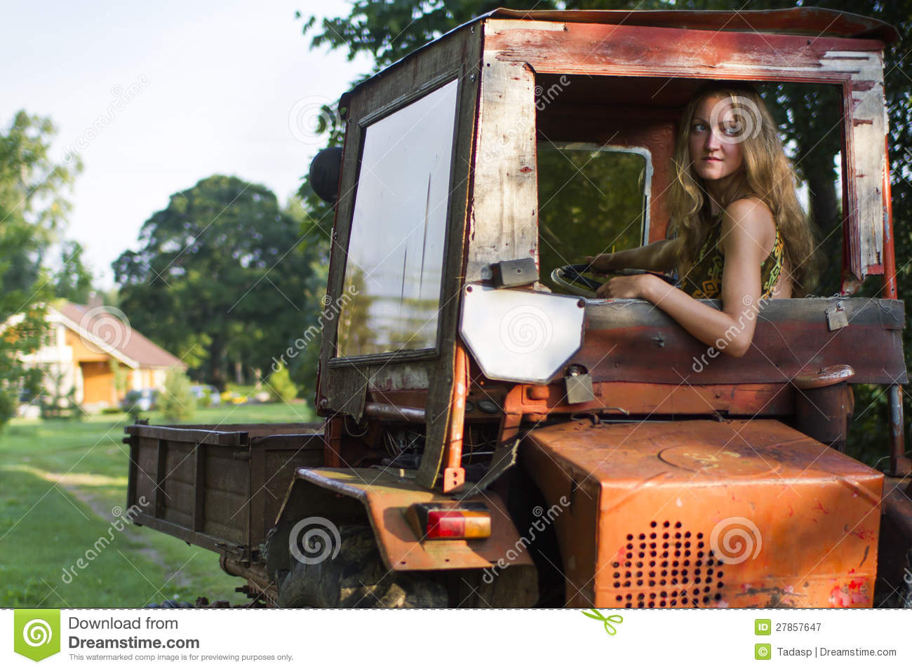 nude chicks in tractors
