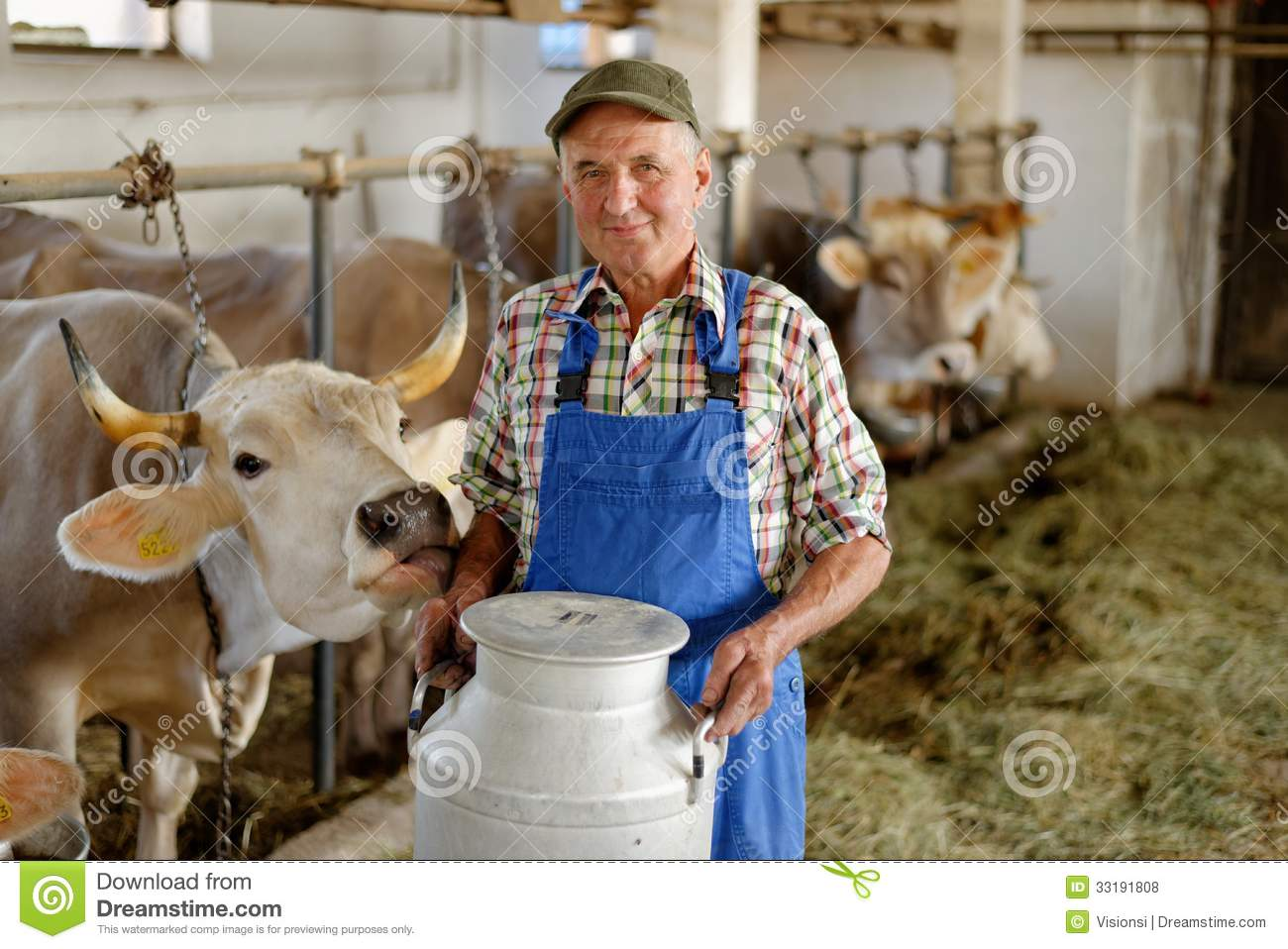 Farmer Is Working On The Organic Farm Royalty Free Stock Photos ...