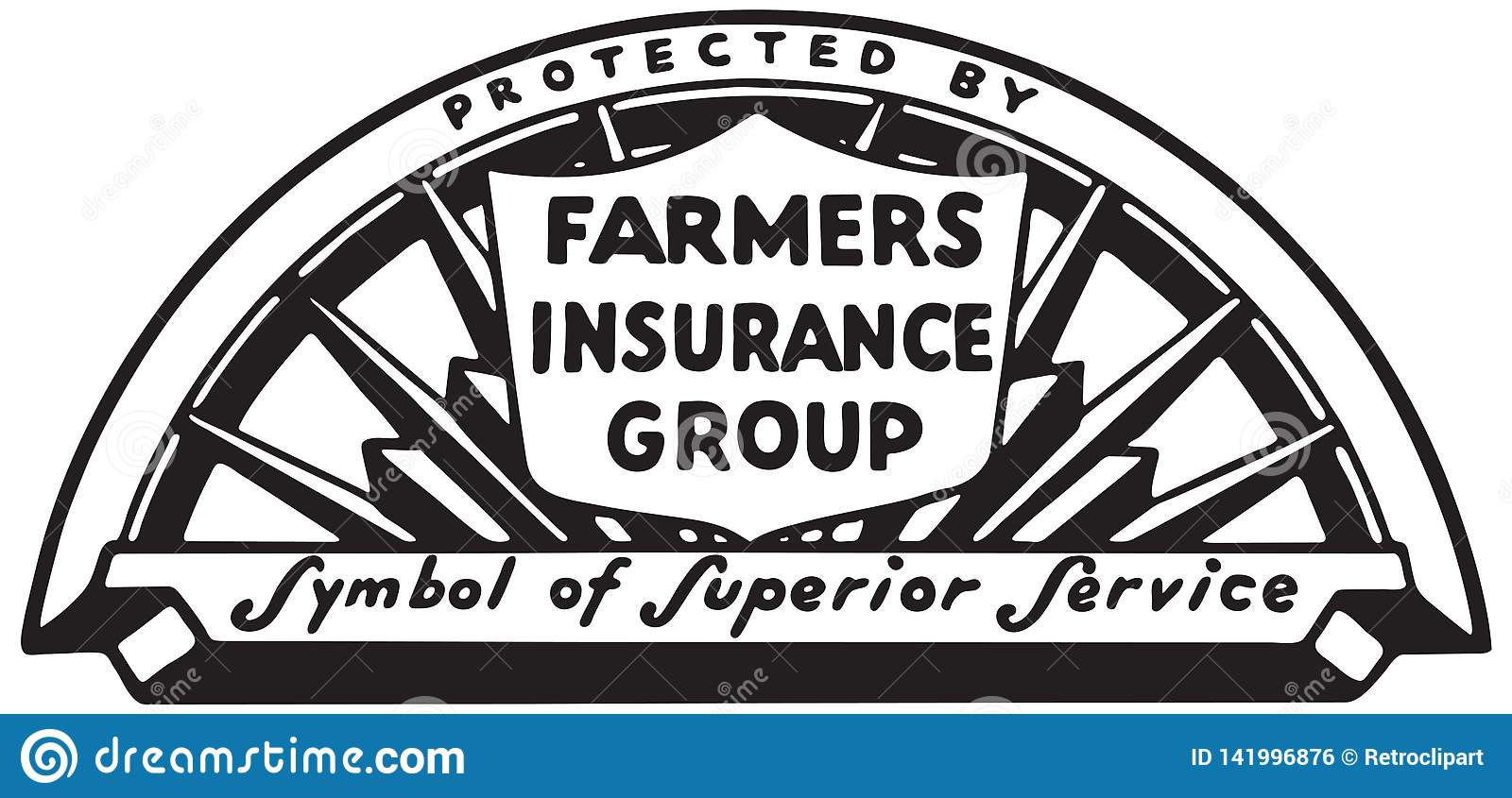 Farmers Insurance Group stock vector. Illustration of ...