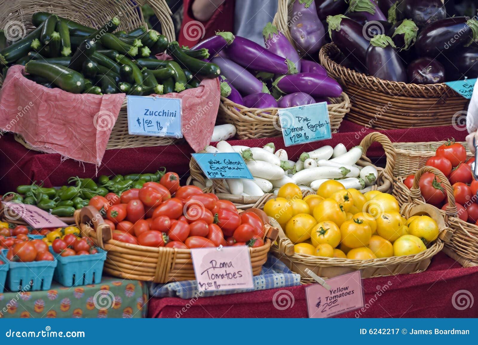 Farmers Market fresh vegtables