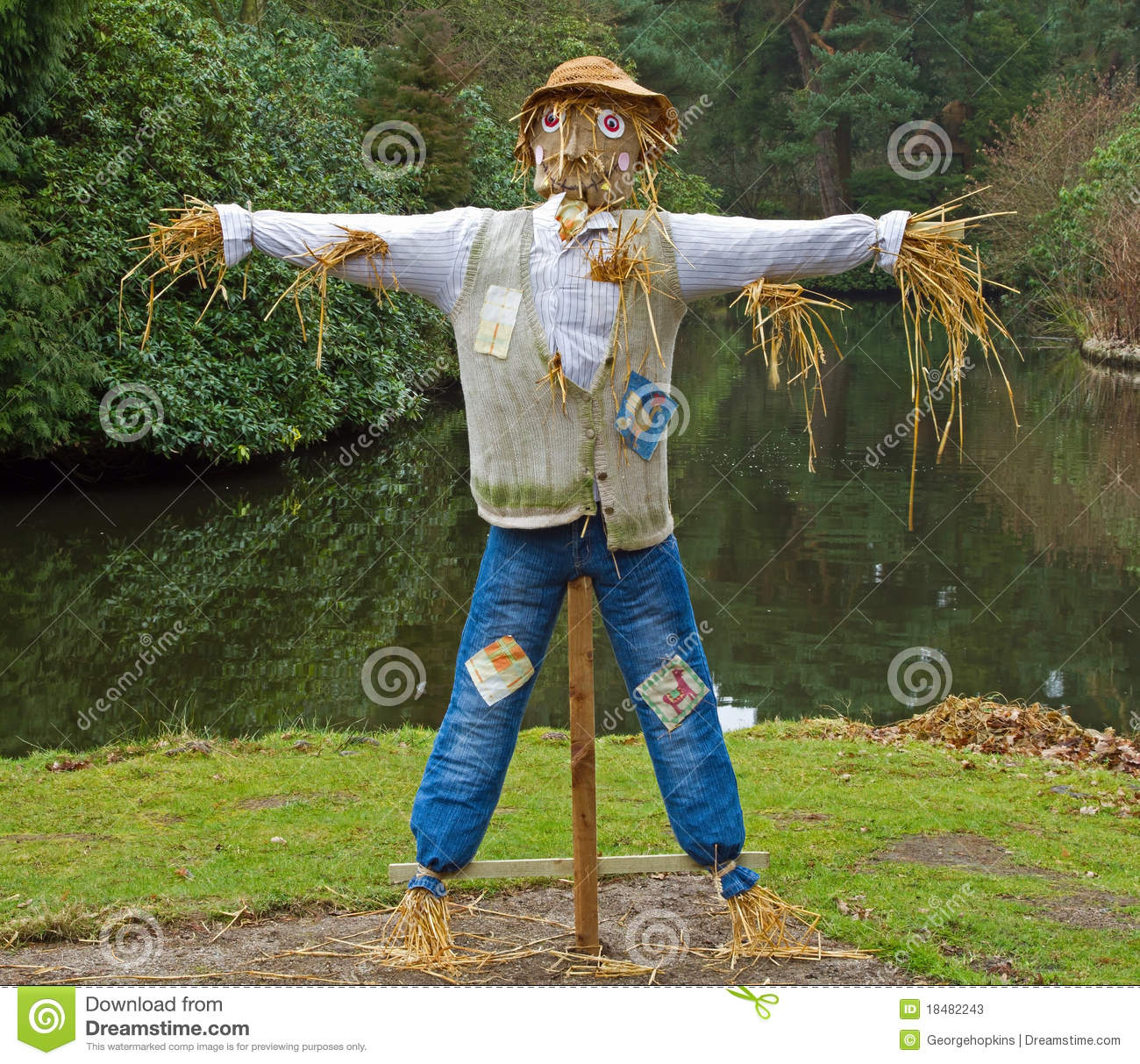 Farmers Scarecrow Stock Photos - Image: 18482243