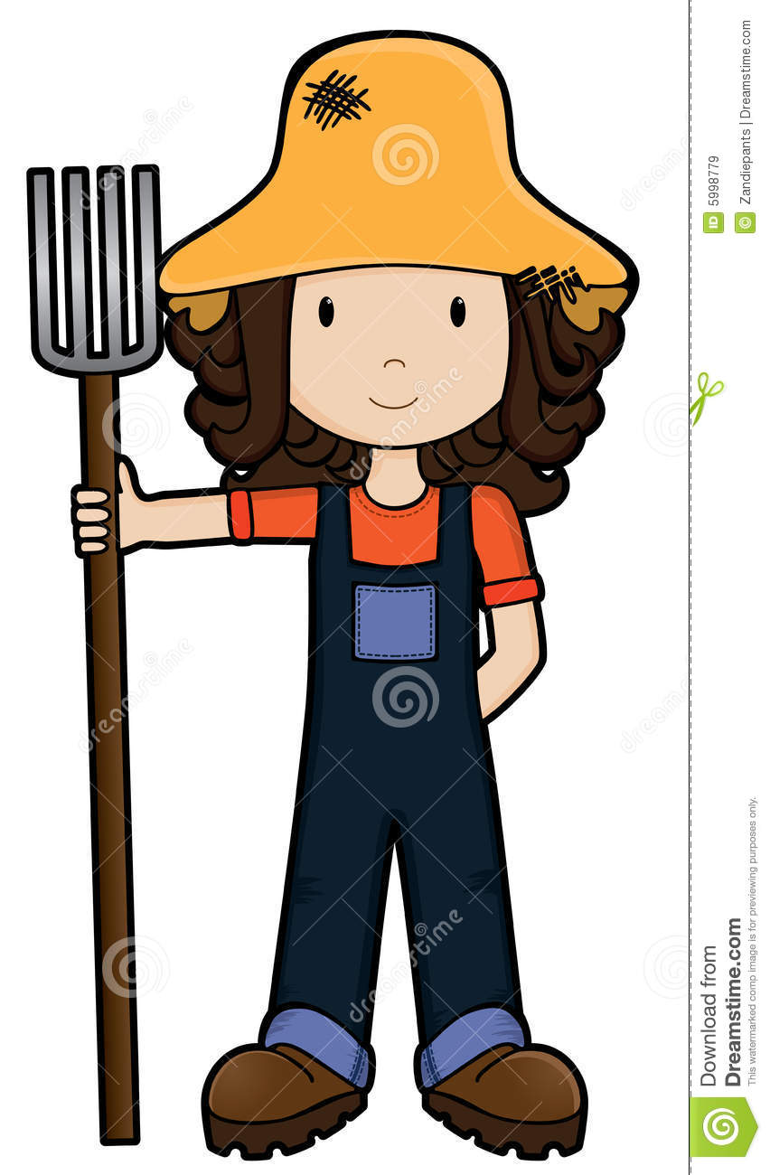 FarmGirl -Vector