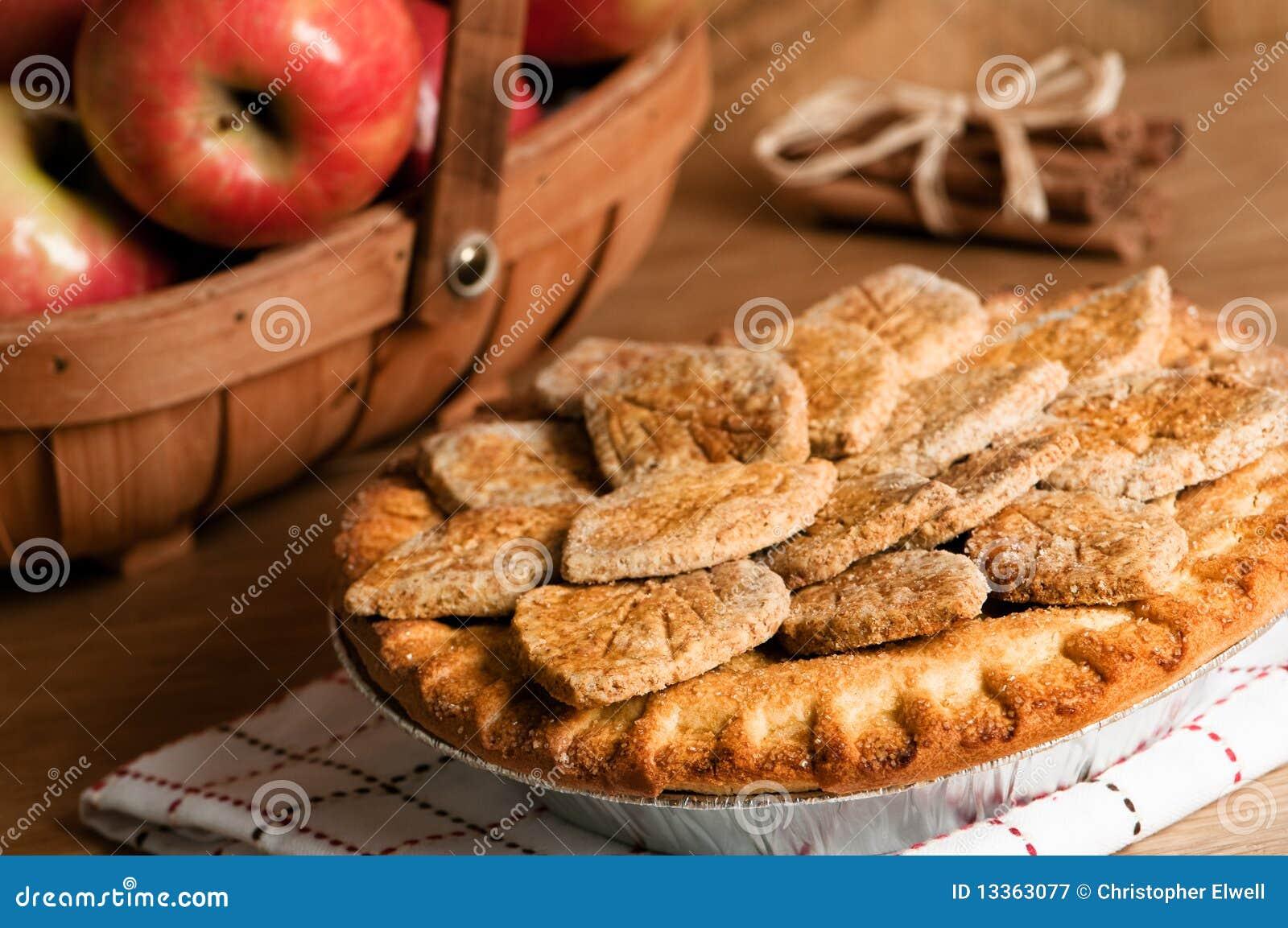 Farmhouse Apple Pie Royalty Free Stock Photography - Image ...