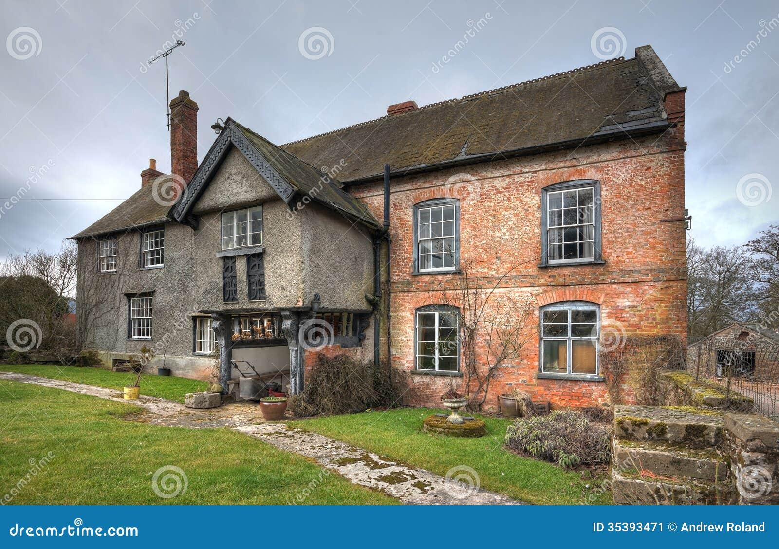 Farmhouse Shropshire Stock Image Image
