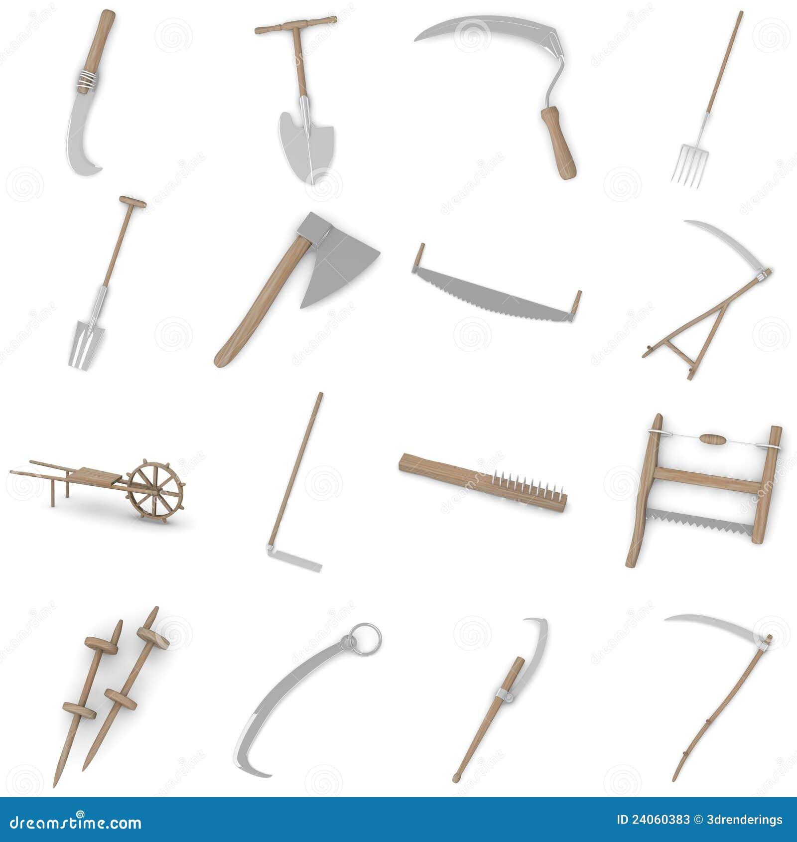 Farming Tools - 16 Stock Photos - Image: 24060383