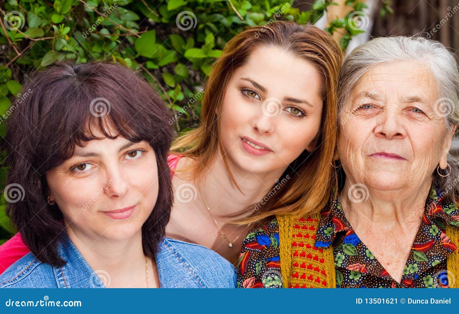 Farmor för dotterfamiljsondotter
