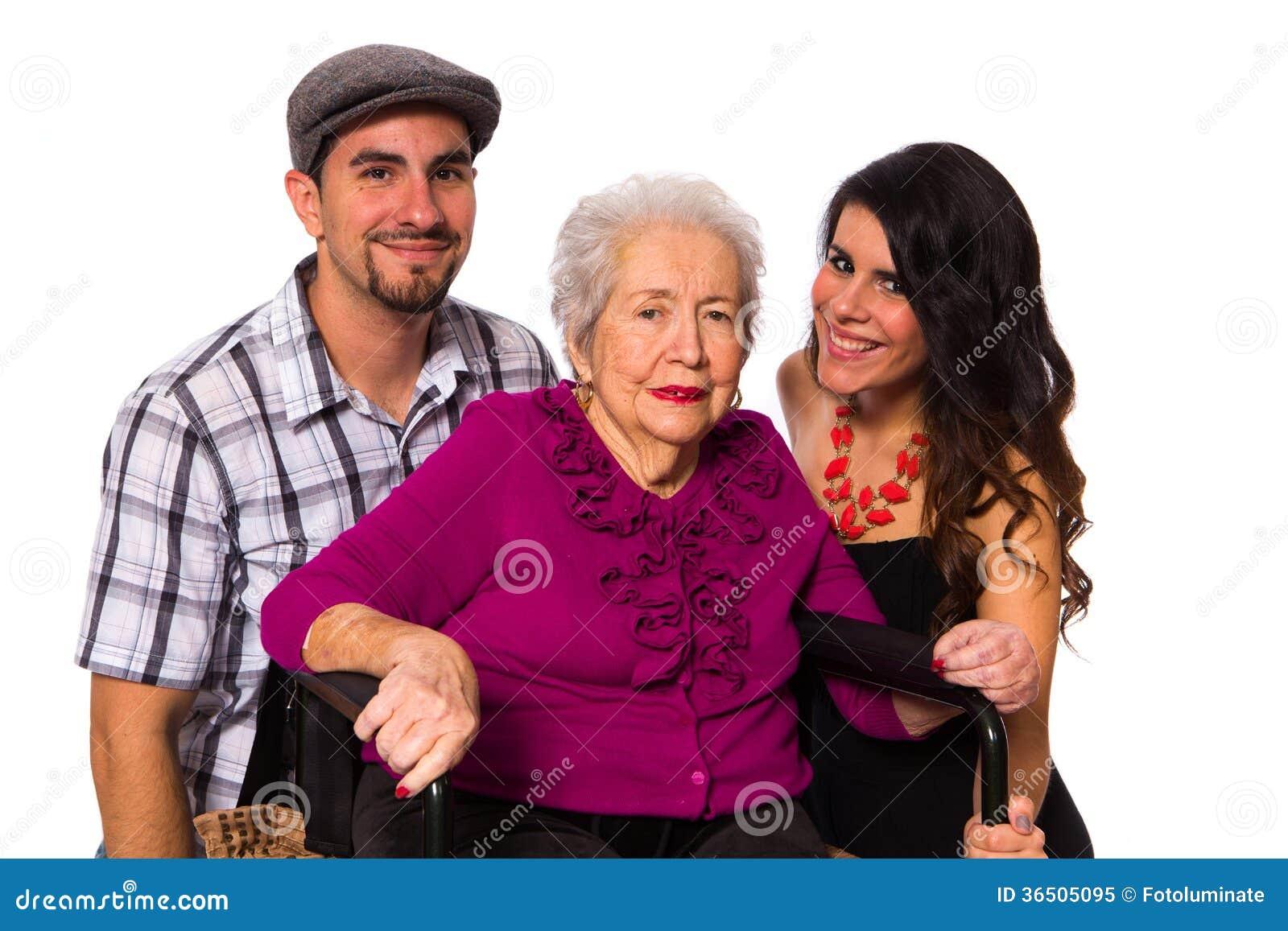 Farmor och barnbarn