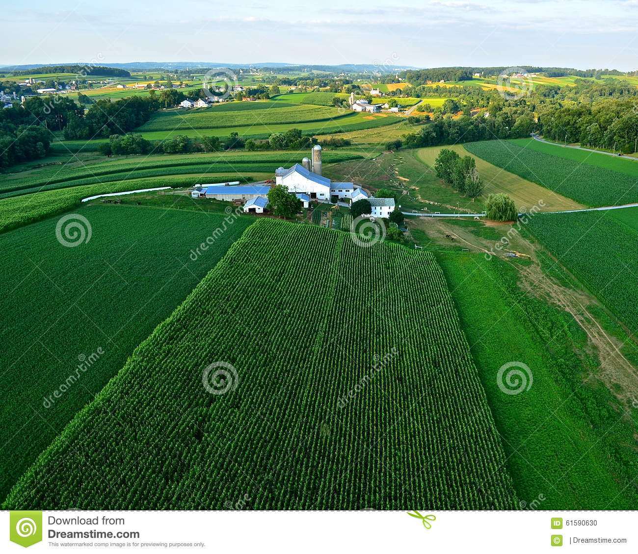 Farms and fields of lancaster county pa