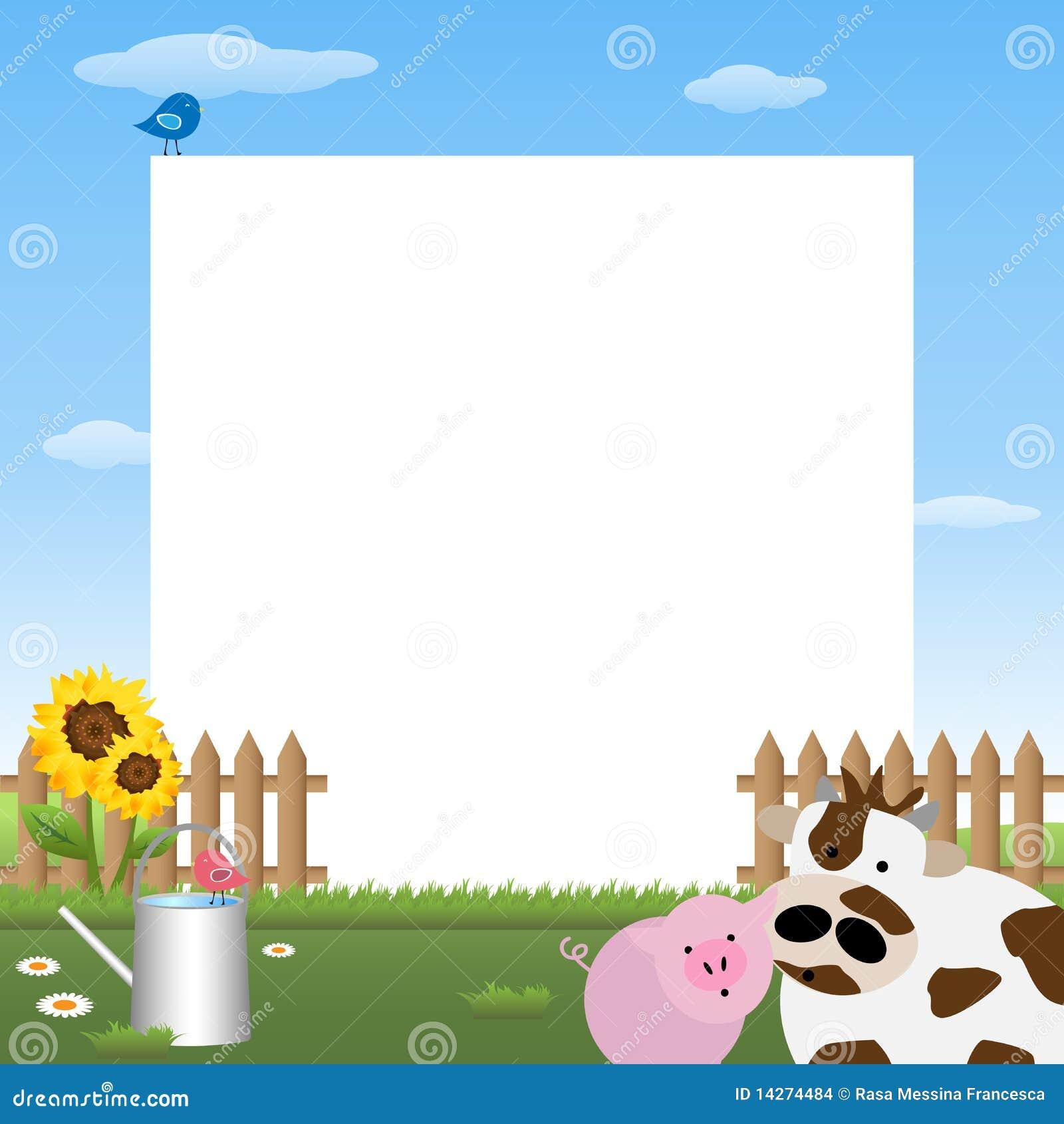 Farmyard Frame Stock Images - Image: 14274484