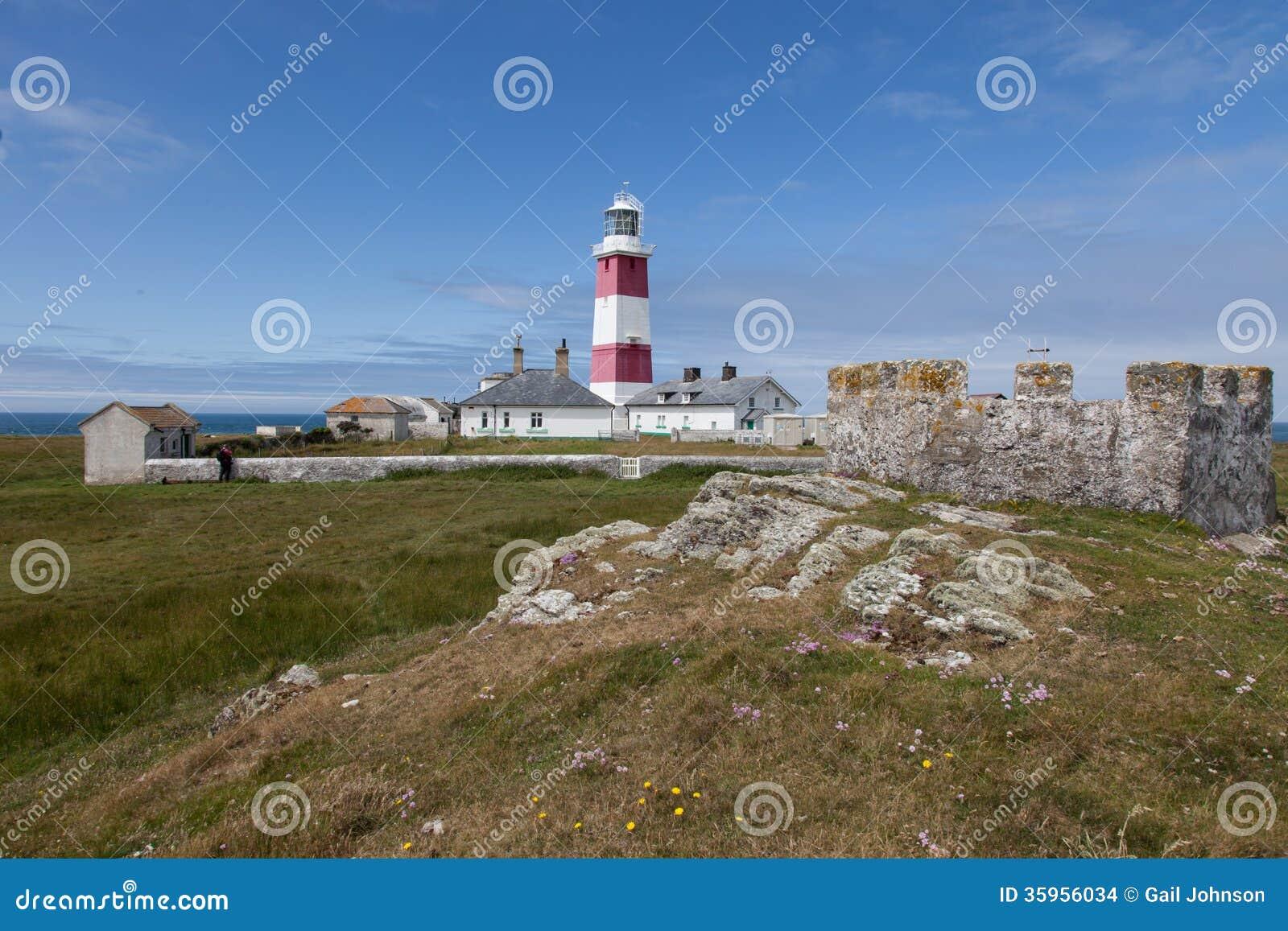 Faro de la isla de Bardsey