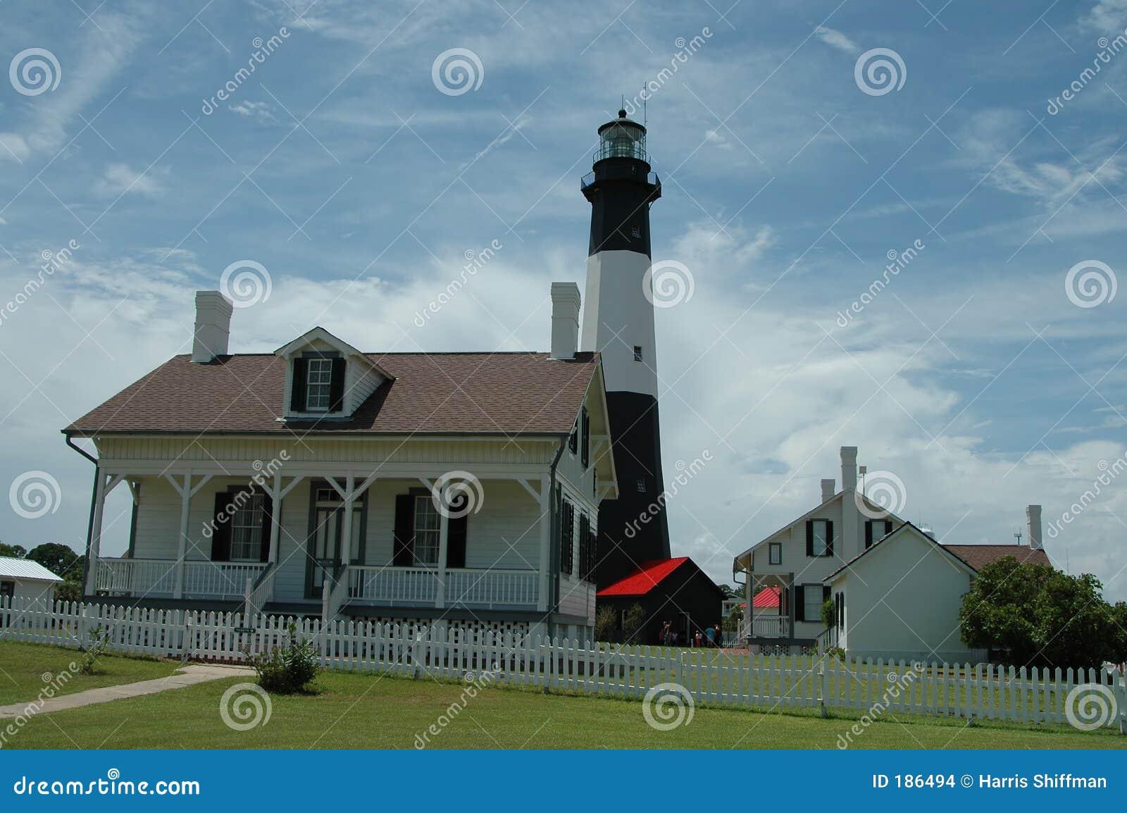 Faro de la isla de Tybee