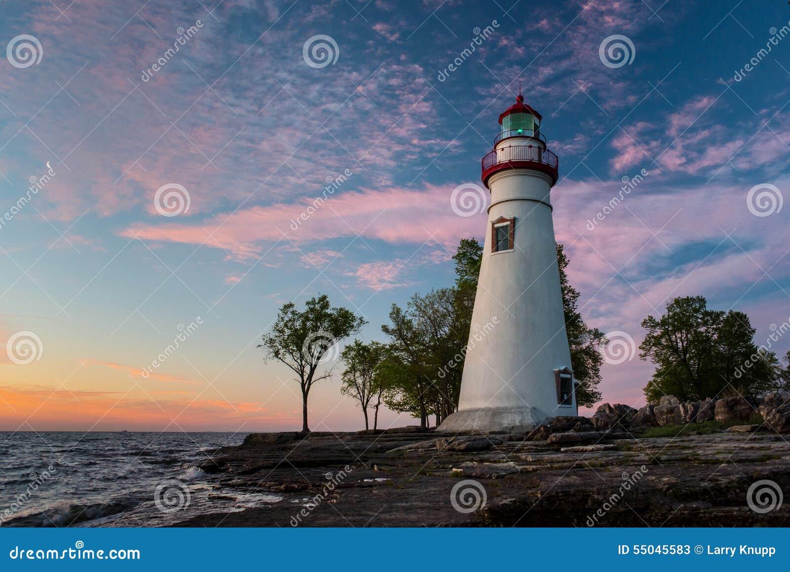 Faro de Marblehead en Ohio
