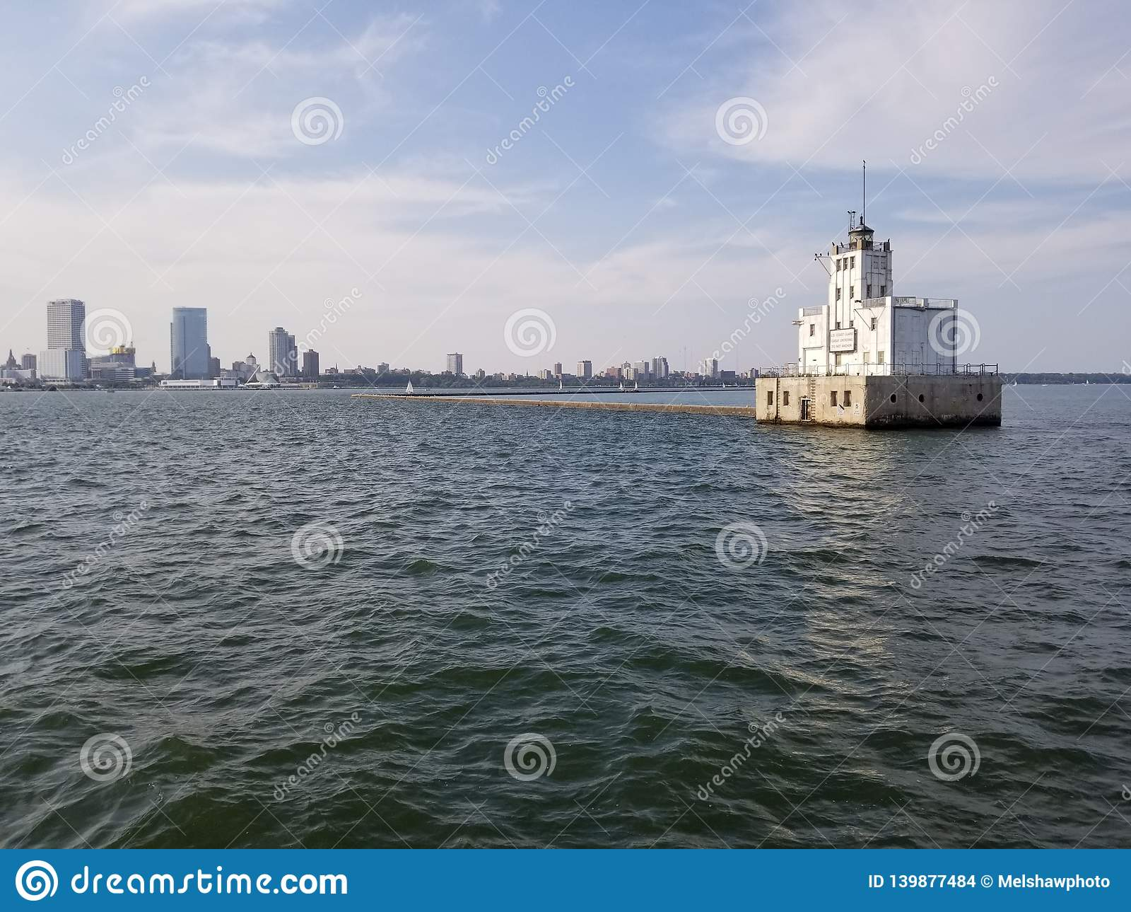 Faro del puerto de Milwaukee