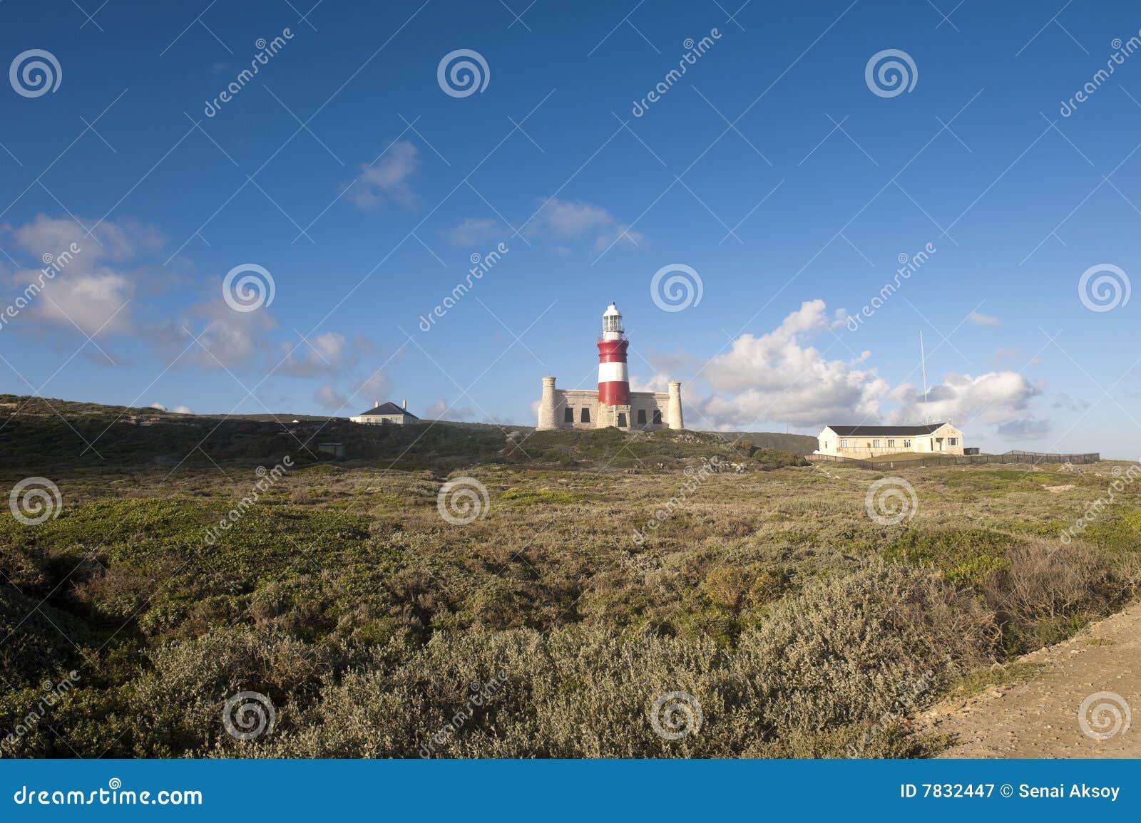 Faro di capo Agulhas, Sudafrica.
