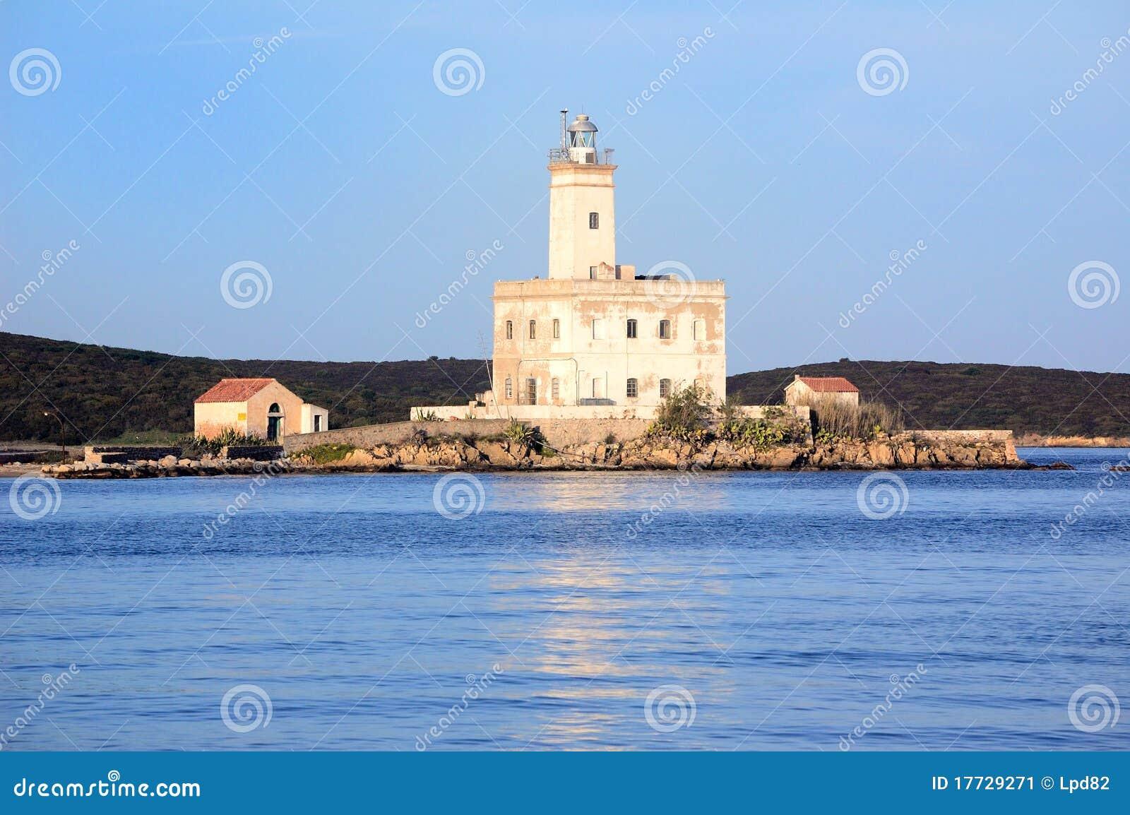 Faro en Cerdeña
