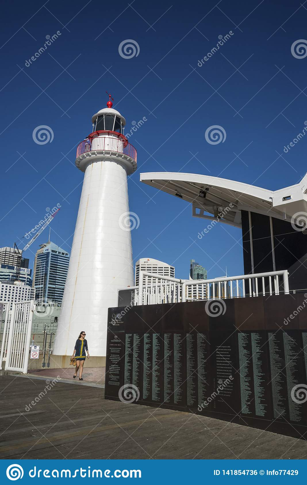Faro, museo marittimo nazionale, Darling Harbour, Sydney, Australia