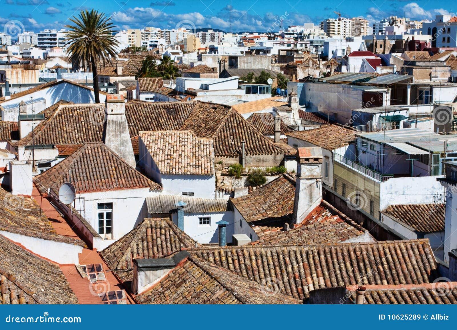 Faro-Stadt Lizenzfreie Stockbilder - Bild: 10625289