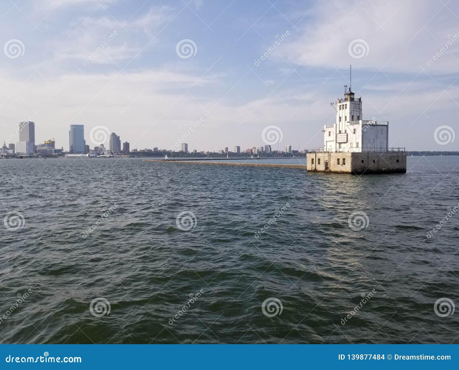 Farol do porto de Milwaukee