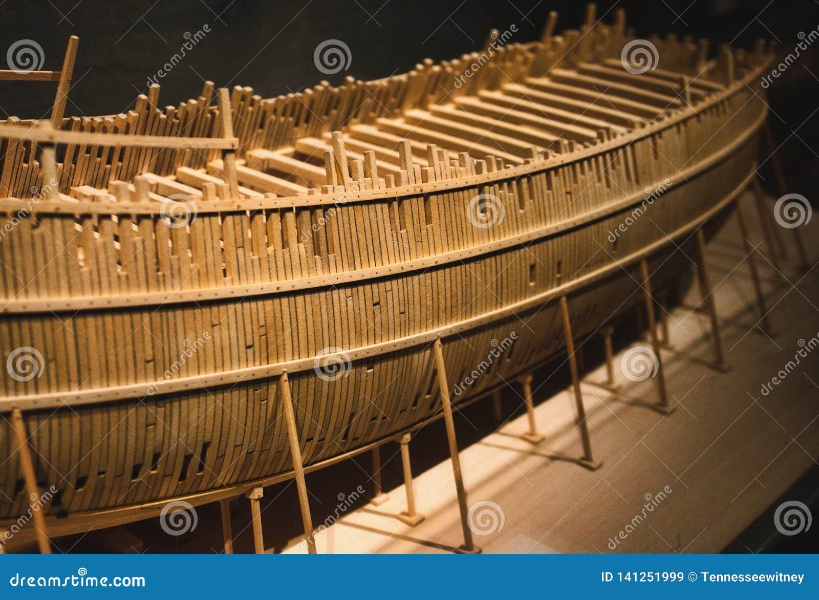 Fartyg för modell för Balsaträ i konstruktion