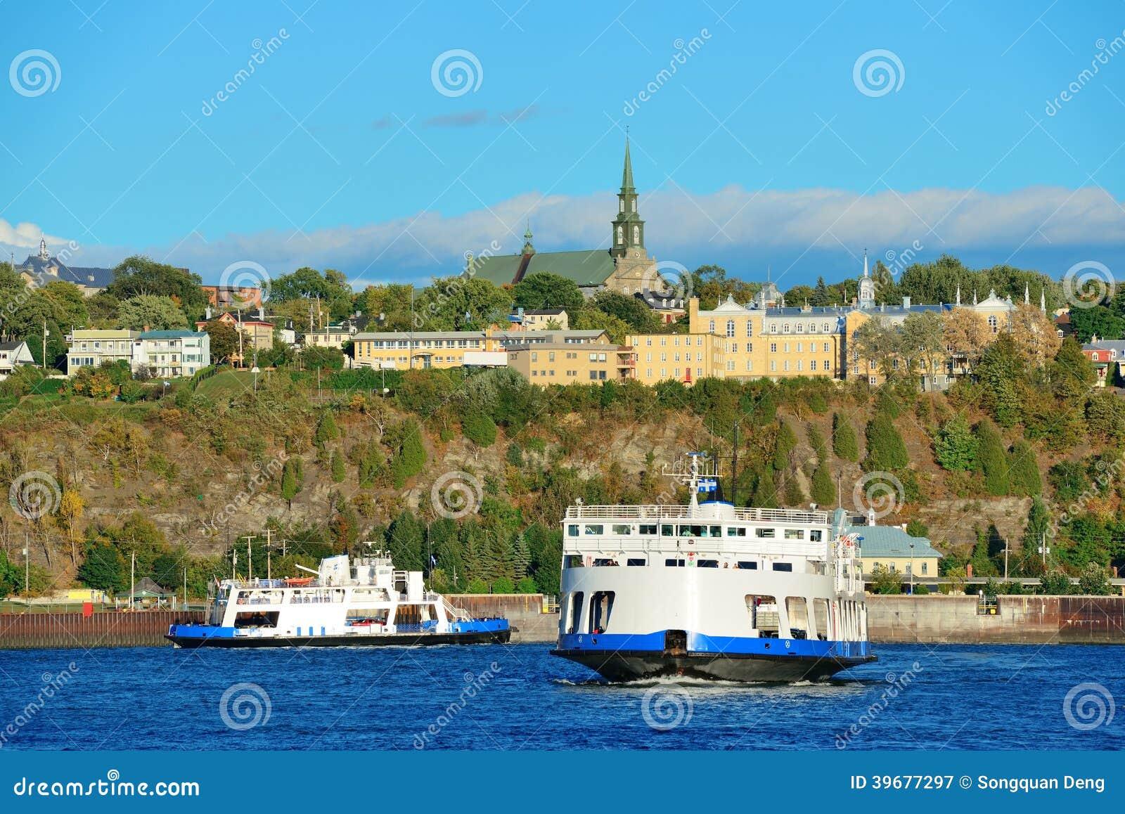Fartyg i Quebec City