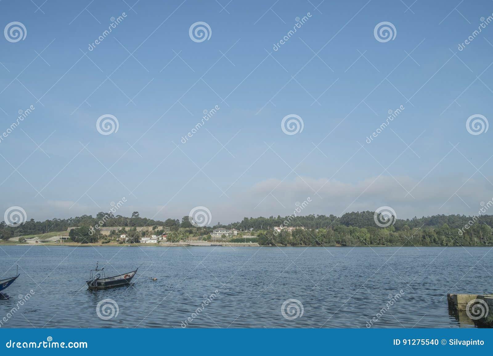 Fartyg på floden minho