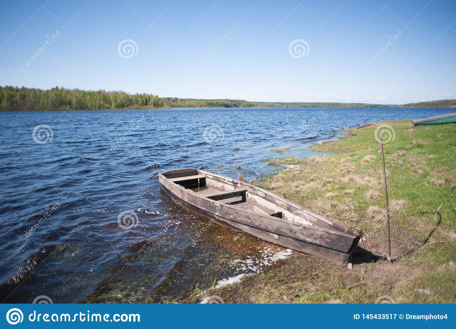 Fartyg p? laken