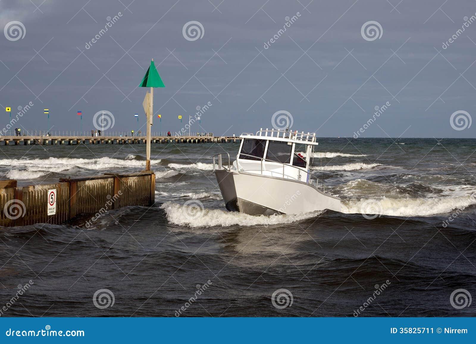 öppning i fartyg
