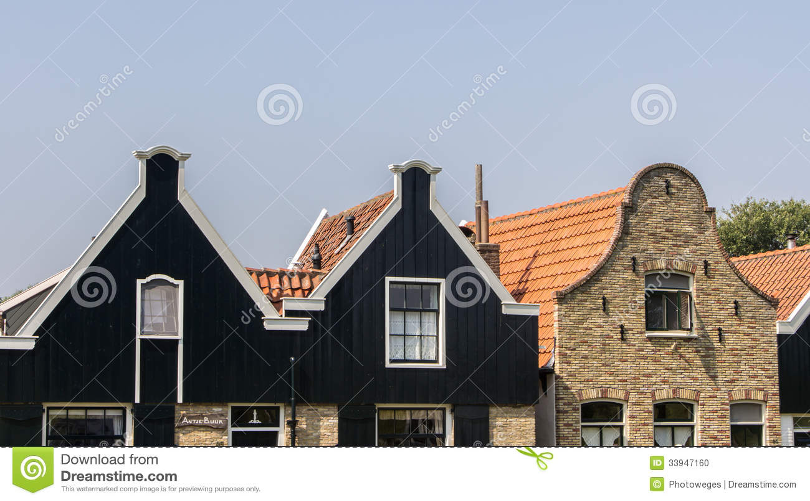 Fasada stara Holenderska ulica