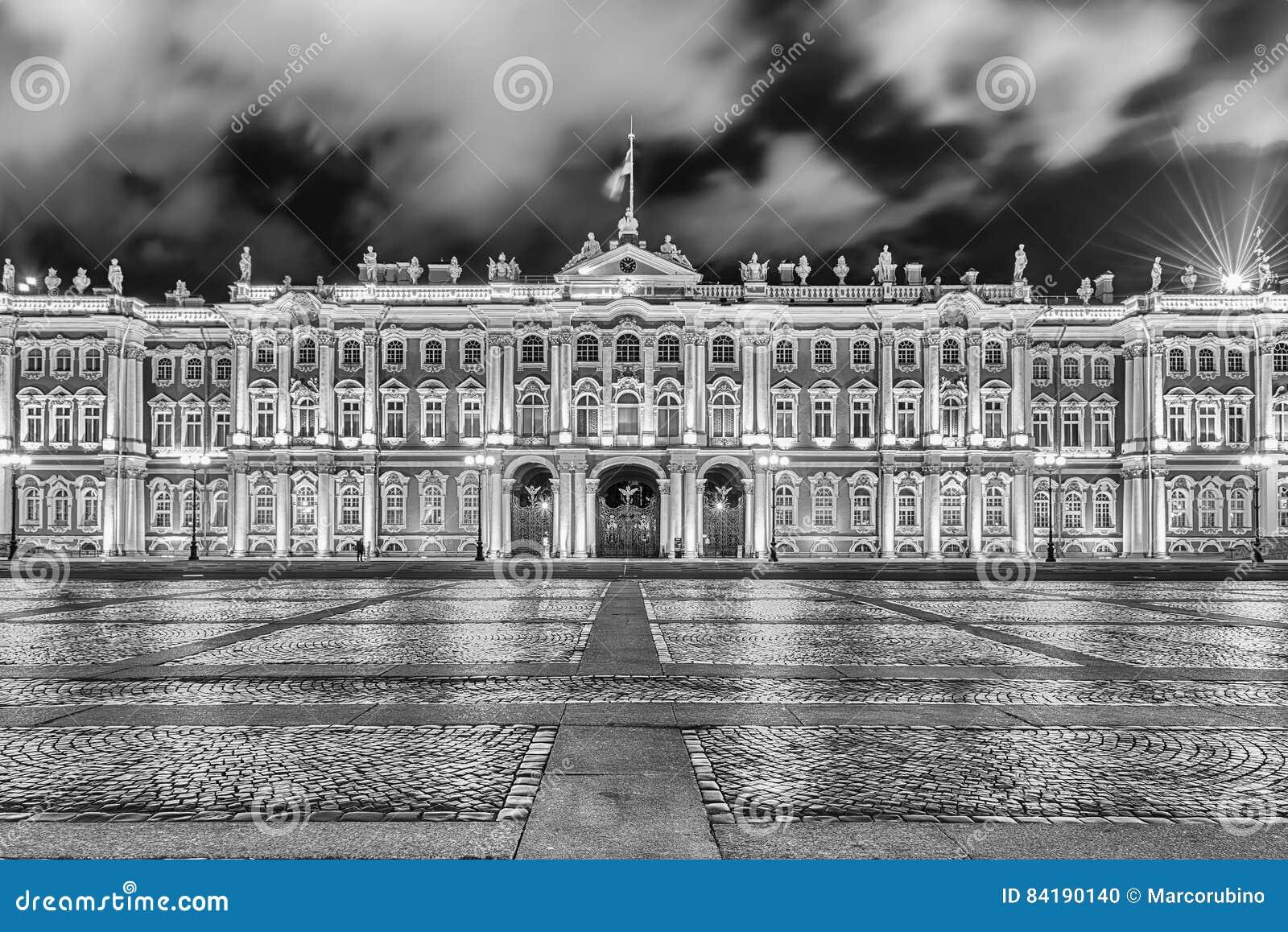 Fasada zima pałac, eremu muzeum, St Petersburg, R