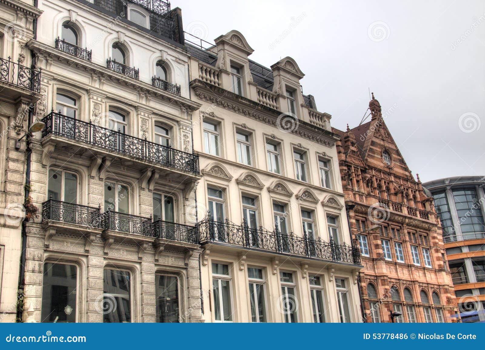 Fasady domy w Londyn, UK
