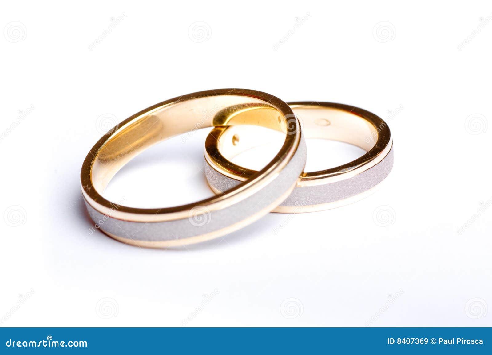 Fasce di cerimonia nuziale dell oro